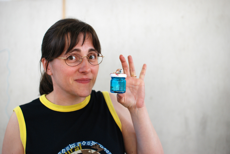 Roberta (mairytales su Etsy) e le sue mini creazioni