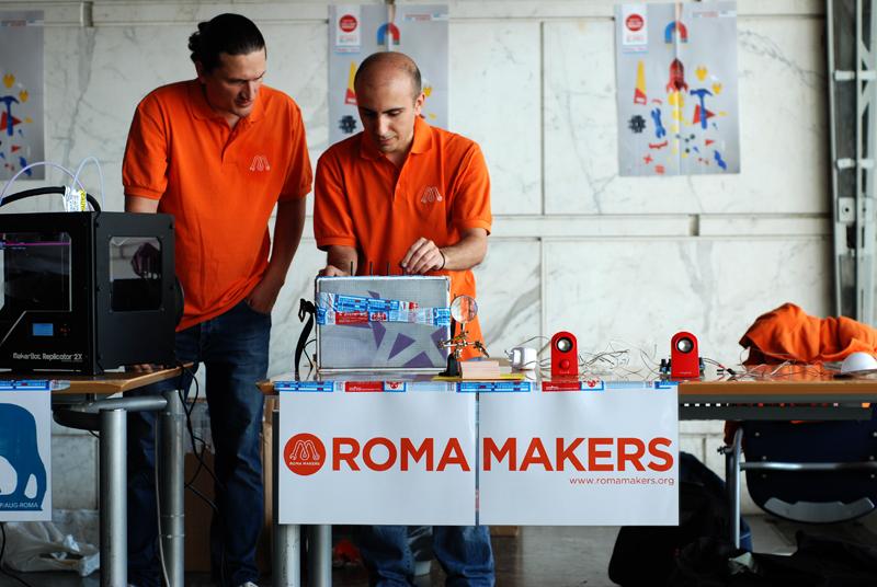 i ragazzi di Roma Makers protagonisti a Palazzo dei Congressi