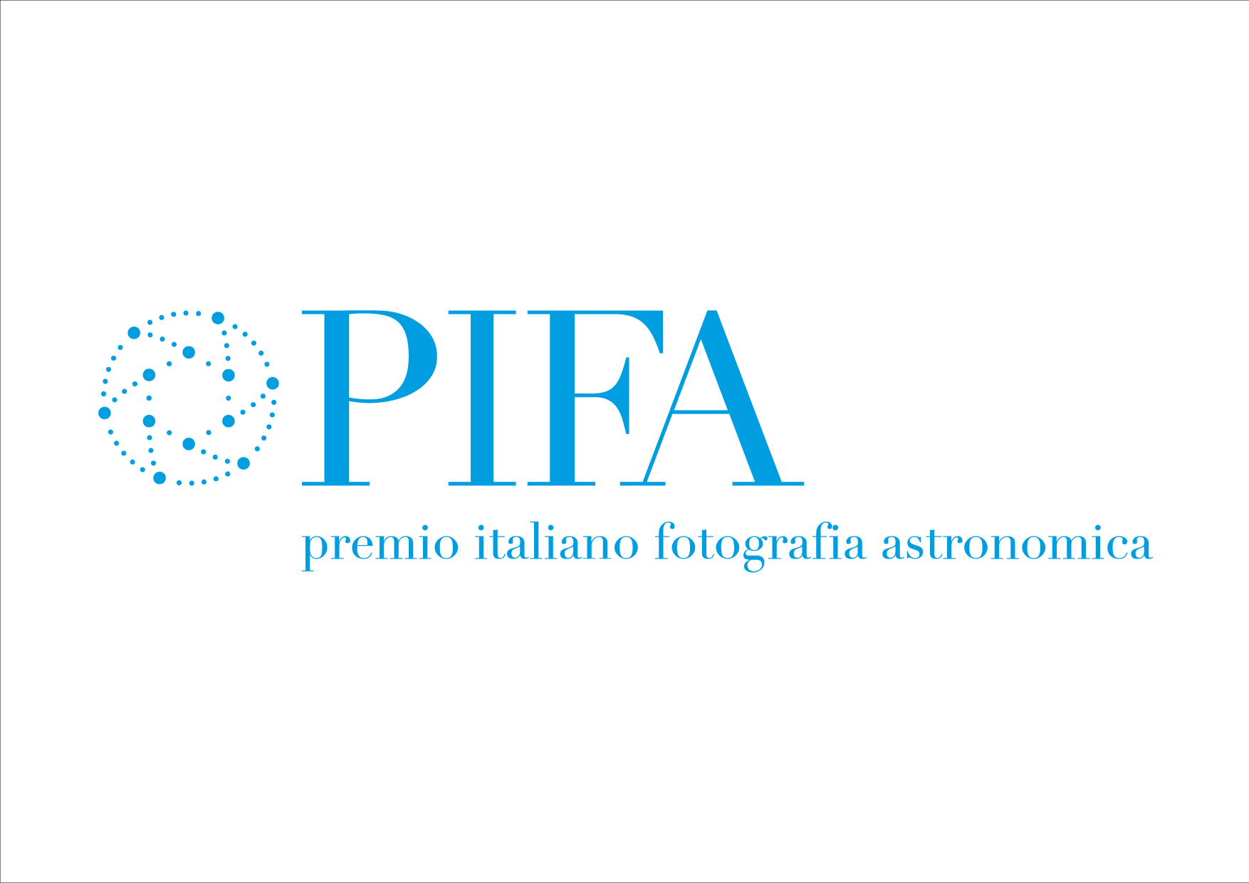 Il logo del Premio Italiano Fotografia Astronomica