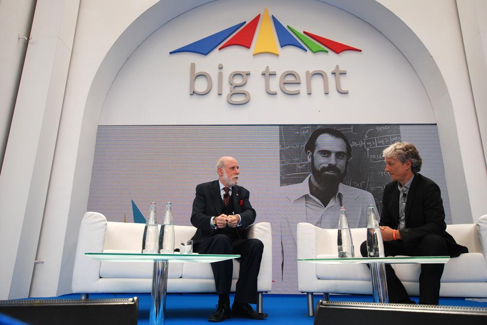 Al Big Tent di Google il ministro della Cultura Bray. A lui il compito di aprire l'appuntamento all'Aranciera di San Sisto